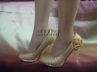 Туфли на высоком каблуке and Drop shipping Women Wedding high heel shoes Crystal diamond platform pumps shoes, party shoes
