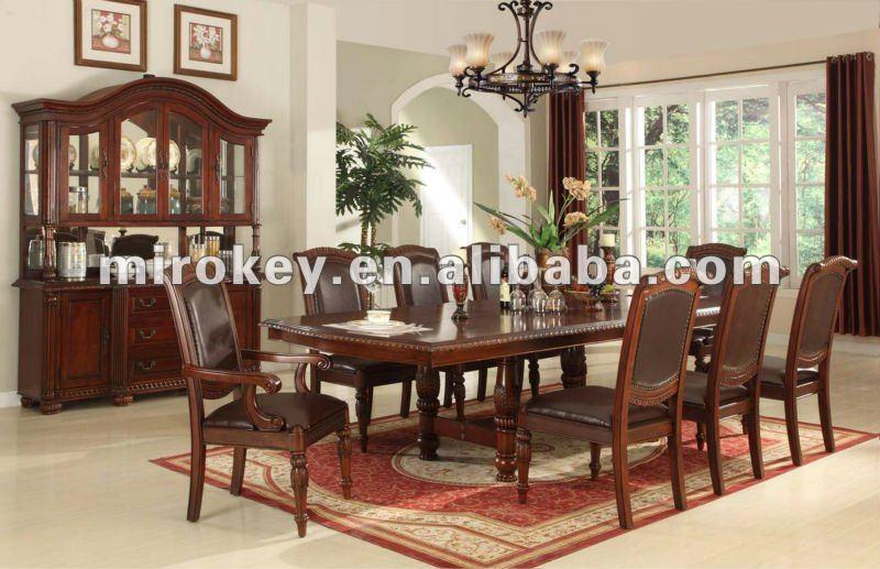 Sala De Jantar Usada Antiga ~ Antiga sala de jantar conjunto, antique mesa de jantar conjunto