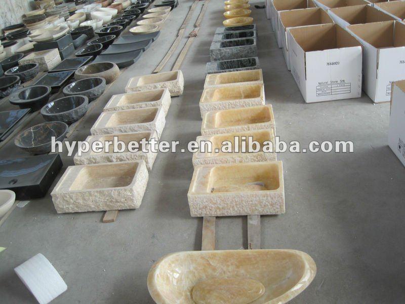 lavello bagno in pietra marmo travertino beige granito lavello di pietra lavabo lavelli