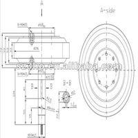 Альтернативные генераторы энергии SANHO shf200-100W-350rpm