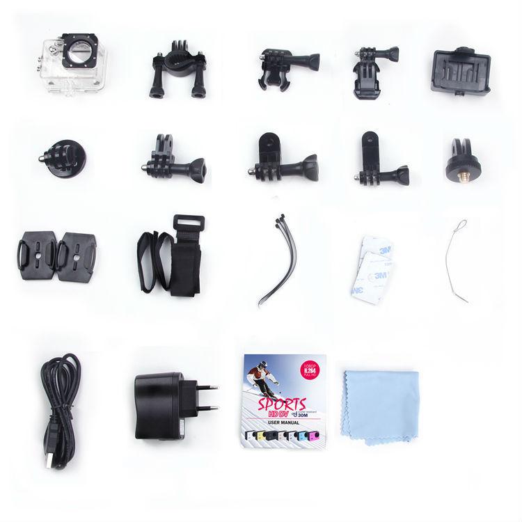 New RC FPV Camera Helmet Sports DV 1080P Full HD H.264 12MP Car Recorder Diving