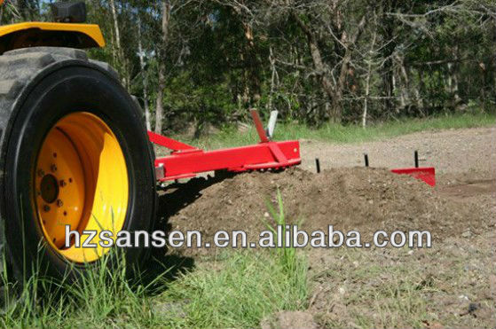Grader Blade with Rippers 4Foot 1200mm ---- Multi Angle Tractor 3pl Reversible.