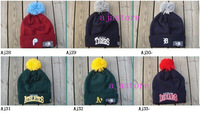 Женская бейсболка New beanies, wool winter warm beanies, sport team hats, Athletics baseball beanies