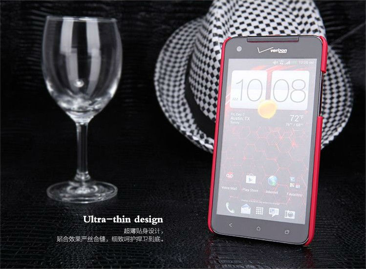 Orginal NILLKIN Super Shield Hard Matte Case Cover For HTC X920e Droid DNA + Screen Protector Retail Box Free Shipping (9)