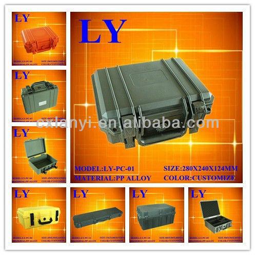 High-impact plastic watertight case