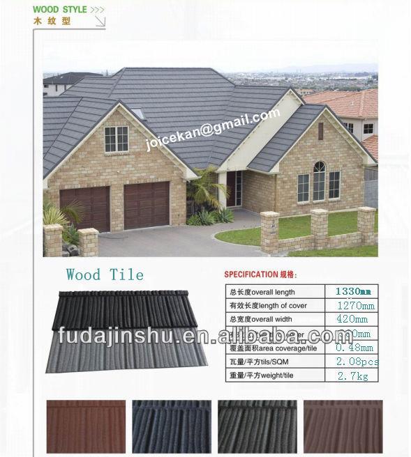 metal roof tile/stone coated steel roof tile