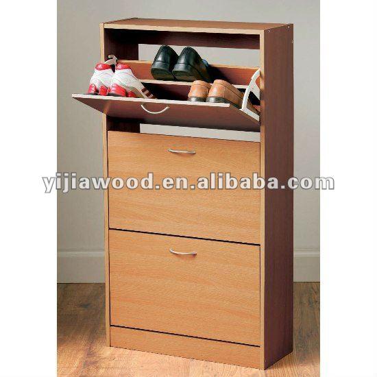 Dise o moderno muebles para el hogar de madera zapatos de for Muebles para zapatos moderno
