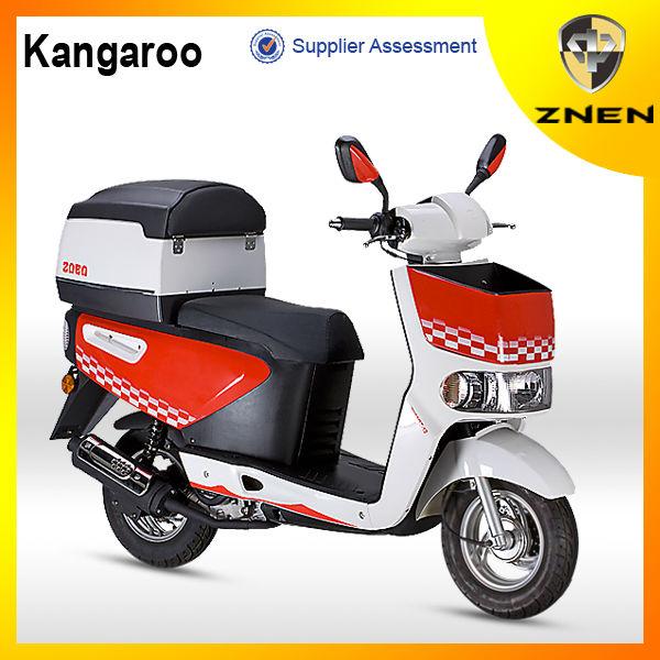 ZNEN MOTOR -- M Kangaroo 50CC(Patent gas scooter ,EEC, EPA, DOT)