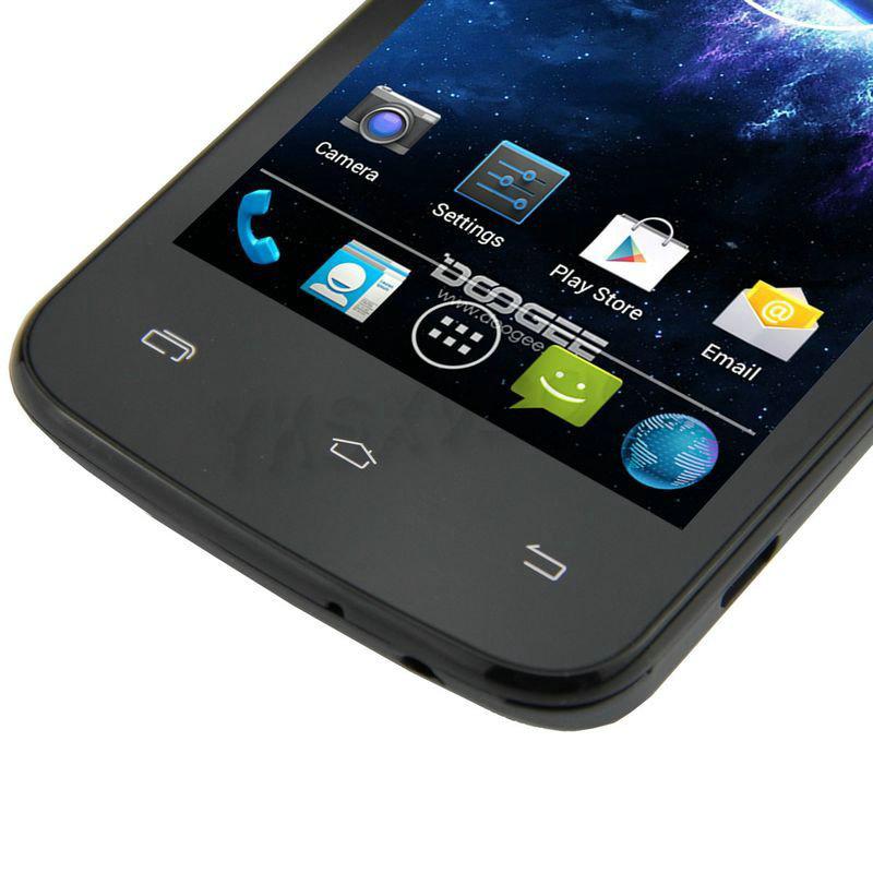 Wholesale original 4'' Doogee Collo DG100 dual core phone MTK6572 1.3GHz WVGA 512MB/4GB OS 4.2