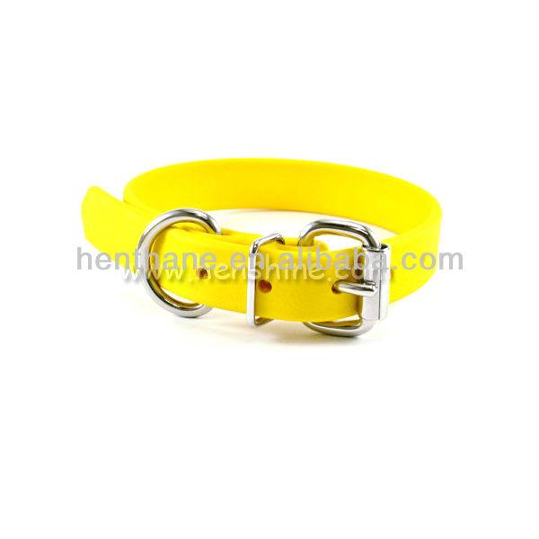 pvc dog collar for dog shock collar material