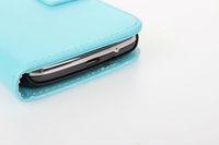 Чехол для для мобильных телефонов 10pcs Color Stand Leather Cover for Samsung galaxy ace 3 S 7270 PU Wallet Case with two ID Card Slot