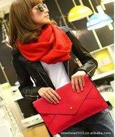 Клатч 2013 trend of simple envelope handbag Shoulder Clutch package, Handbag, bag