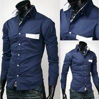 Мужская повседневная рубашка Mens shirts #MS062 mens clothing