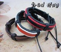 Кожаный браслет Bad Guy sl260/PU ,   .factory