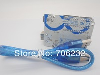 Электронные компоненты Hot! Factory Price High Quality UNO R3 Board with Atmega328P-PU Development Board 1UNO R3 + 1 USB Cable