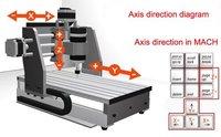 Быстроходный деревообрабатывающий фрезерный станок CNC6040 + 4th aixs + tailstock CNC Router/ CNC engraving machine, hot sale