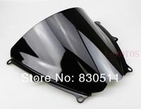 черный ветровое стекло ветровое стекло для suzuki GSX-r 1000 k7 2007 2008