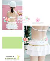 Fission flower skirt girl swimsuit