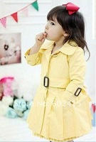 Кофта для девочки 5pcs children's clothing children girl coat Windbreaker children trench coat top Clothes girl's outwear JBB40