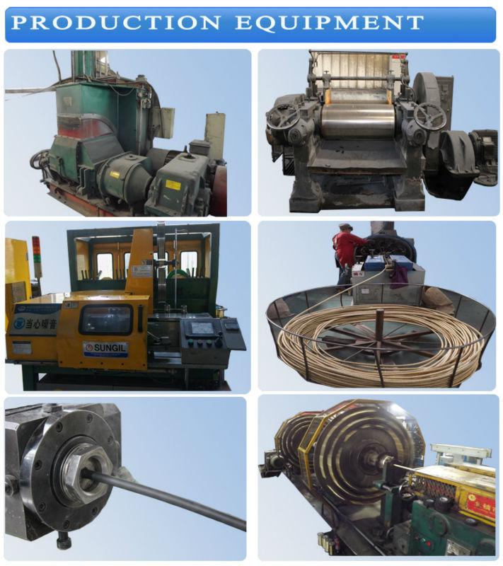 high temperature high pressure hydraulic rubber hose