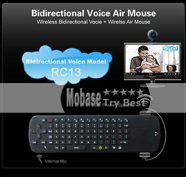 Wireless Keyboard Air Mouse Measy RC13 158325 5