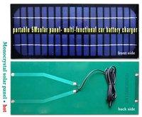 Солнечная батарея Factory supply 5W 18V solar panel car 12v battery charger laptop UK STOCK fast