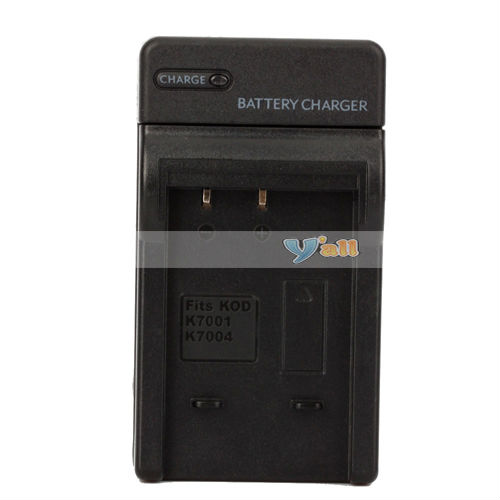 Camera Battery Charger For Kodak Klic-7004 / Klic-7001 /Fuji NP-50 / Pentax D-LI68 (D4207)