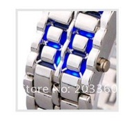 Наручные часы LED Watch SHARP Lava Style Iron Samurai Metal