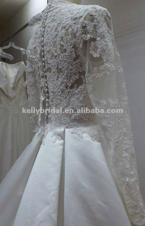 Мусульманских свадебное платье