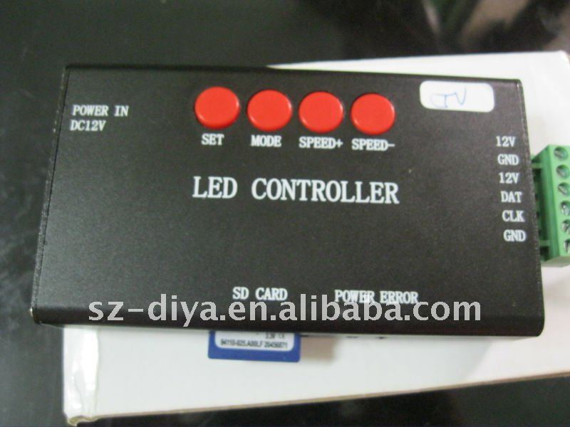 500CM 32led/m ws2801 dream color Magic strip+ controller+5V power supply