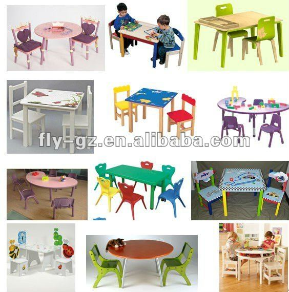 Kids school furniture cafe kid table and chairs funny kid s furniture
