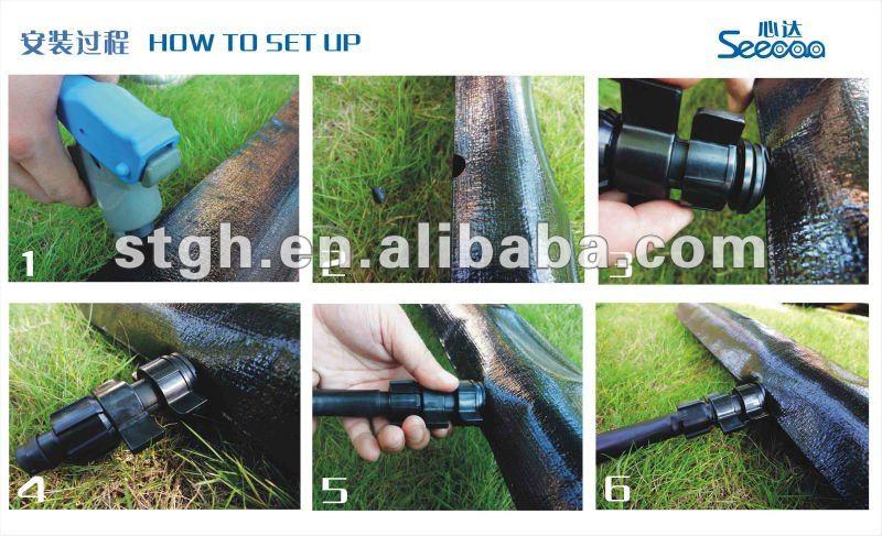 lay flat hose for drip irrigation ( Anti-UV ), View PE lay flat hose