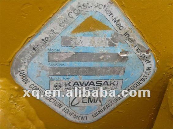 used KAWASAKI KLD85Z IV WHEEL LOADER