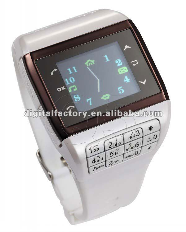 New Q5 1.3'' Wrist Watch Dual SIM GSM Cell Phone