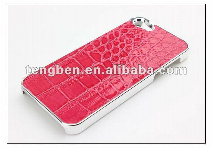 PU leather cell phone case for iphone 5''