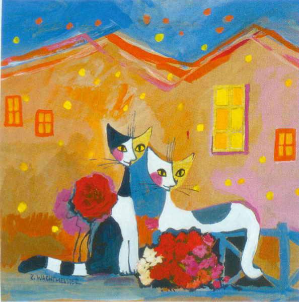 Gatos para pintar al oleo - Pintura habitaciones infantiles ...