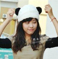 новые мягкие милые панды косплей партия шапка шапка шапочка теплая мужчин леди мультфильм животных