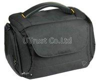 Free Shipping Digital Camera Bag for Nikon DSLR Camera Case, with Shoulder Belt & Handle (B37)