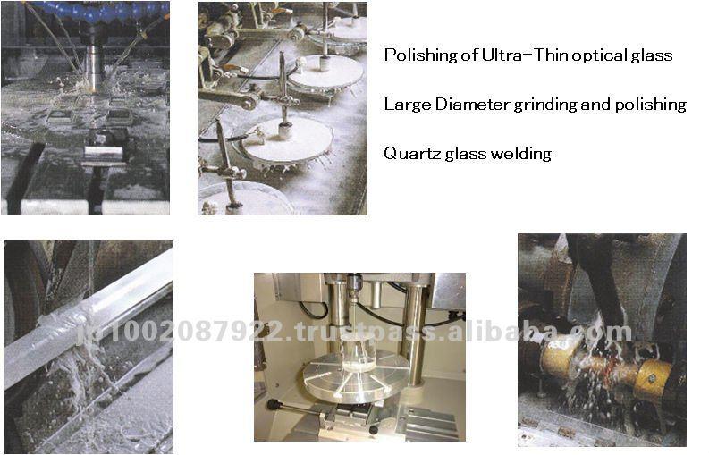 Quartz glass welding jig and quartz boat welding glass
