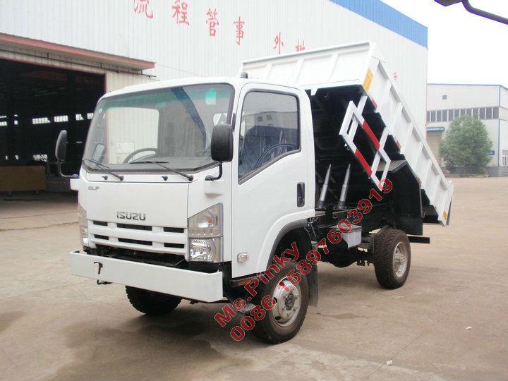All Wheel Drive Dump Truck ISUZU Mini Tipper