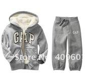 Комплект одежды для девочек children's clothing cashmere hooded sportswear and children's clothing