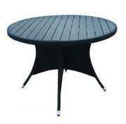 الخشب لائحة الجدول ، polywood كرسي الطعام