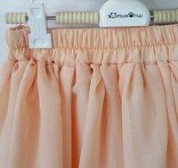 Женская юбка 2013 new Restore ancient ways of tall waist plait chiffon waist skirt High waist plait b189 ow