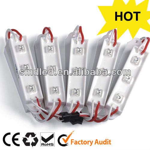 Low voltage 12v 3pcs waterproof led module light