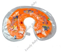 Надувной круг New Baby Kids Infant Adjustable Swimming Ring for Baby Bath Neck Float 4399