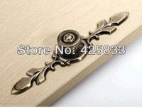Ручка дверная Single Furniture Zinc Alloy Red Copper Plating Kitchen Cabinet Drawer Pull Knob Handle