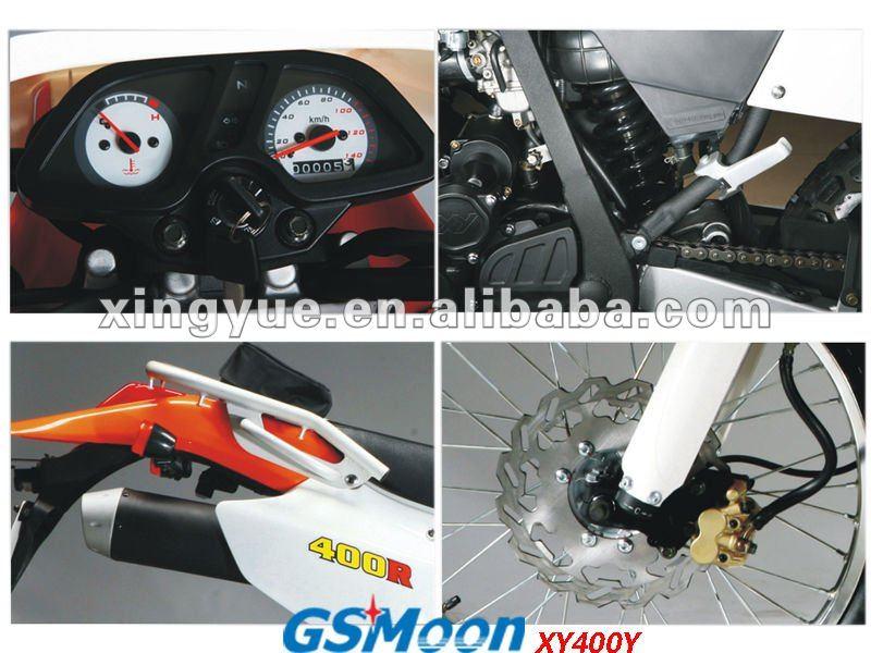 powerful 400cc EEC EPA dirt bike Meet Euro III / DOT