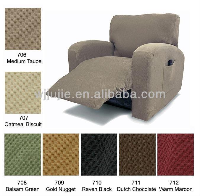 Stretch Pique Recliner Sofa Slipcovers Buy Recliner Sofa Cover