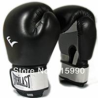 High elastic thick design, EVERLAST boxing gloves breathable sandbags sanda muay Thai red-blue-black ball 3 color 12 ounces