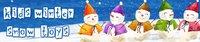 Лыжные перчатки снег мечты ZY-70405